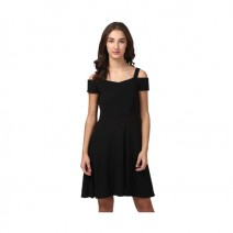 Dress Harpa Women's Fit and Flare Black