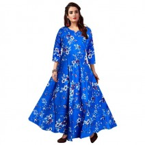 Dress Silver Organisation Women's Fit and Flare Blue