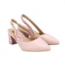 Flat n Heels Women Pink Heels